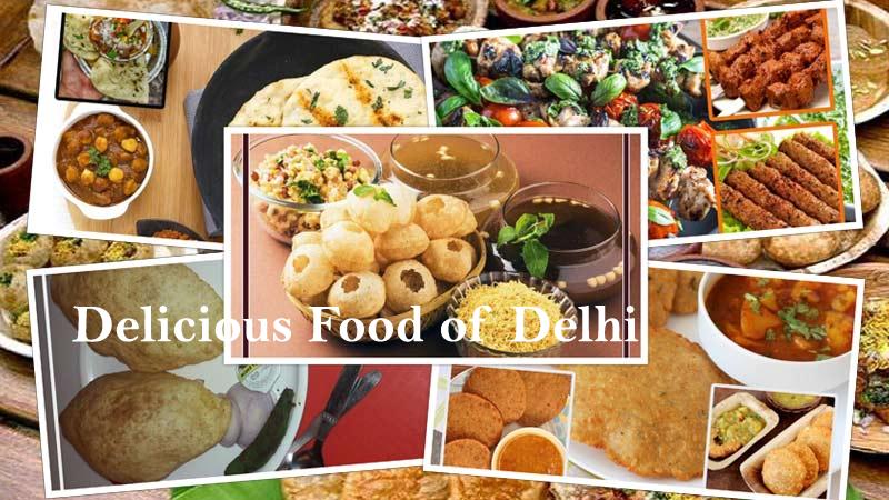 Delicious Food of Delhi